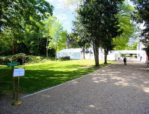 Les allées du parc du Domaine de la Fontaine