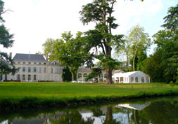 Parc du Domaine de la Fontaine sur les bords du Loiret à Olivet