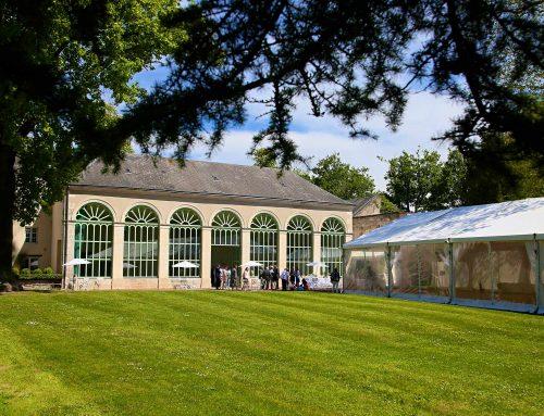 L'Orangerie du  domaine accueille vos réceptions