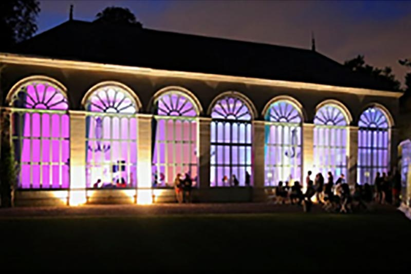 salle de réception peut être sonorisée et illuminée pour faire danser vos invités
